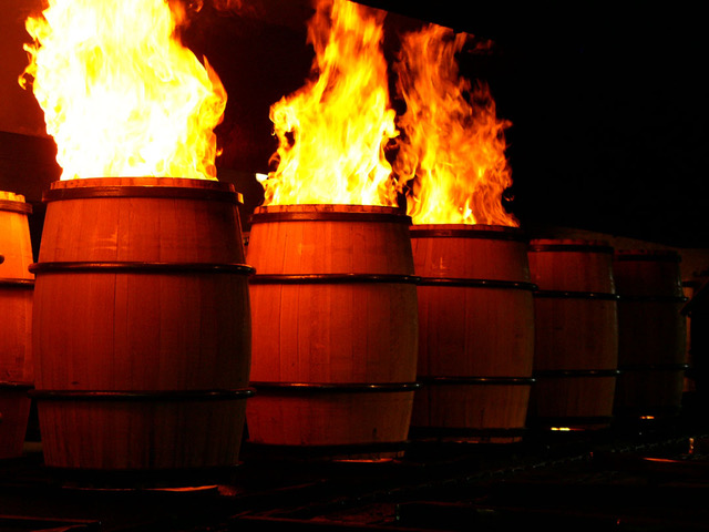 Macallan – Wood – American Barrel Flames